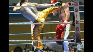 KICK AND boXING PRO ADVERTIZED