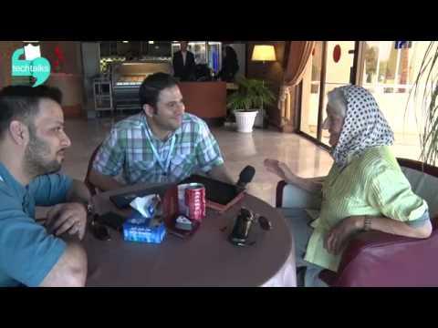 Pre-TEDx interview with Gesine Thomson, Kish, Iran