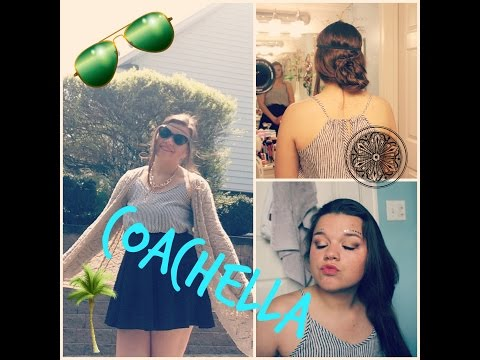 Complete Coachella Look! (Hair, Makeup, and Outfit!)