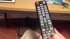 Samsung LED TV - Timeshift Funktion nutzen / Laufendes Programm anhalten