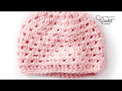 4bfa8be44c4 Crochet Preemie Hat  Preemie 3 - 4 lbs - YouTube
