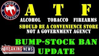 BREAKING NEWS:  ATF Bump-Stock Update & Lawsuits Filed!