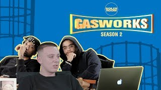 Aitch chats Fake Taxi, washing chicken & the Manchester scene | GASWORKS