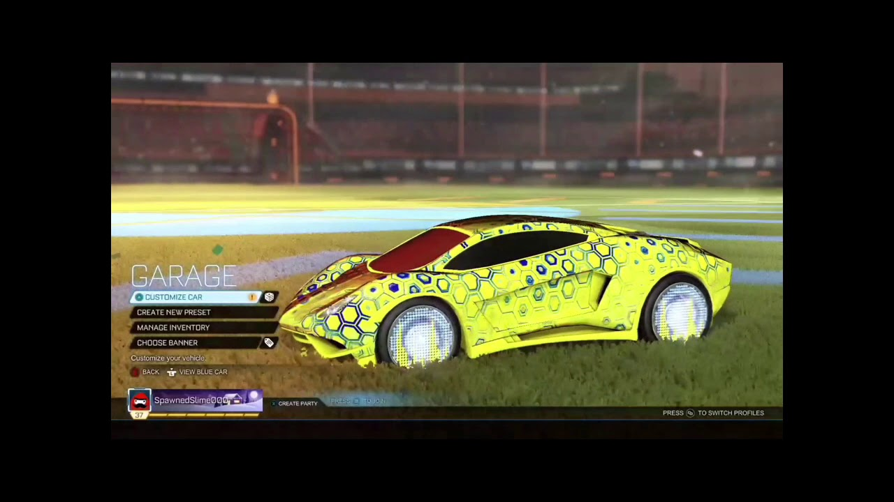 building dream car rocket league xbox one youtube