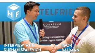 HotelFriend - Igor Bauman Interview With Dushan Spalevich for ICO TV