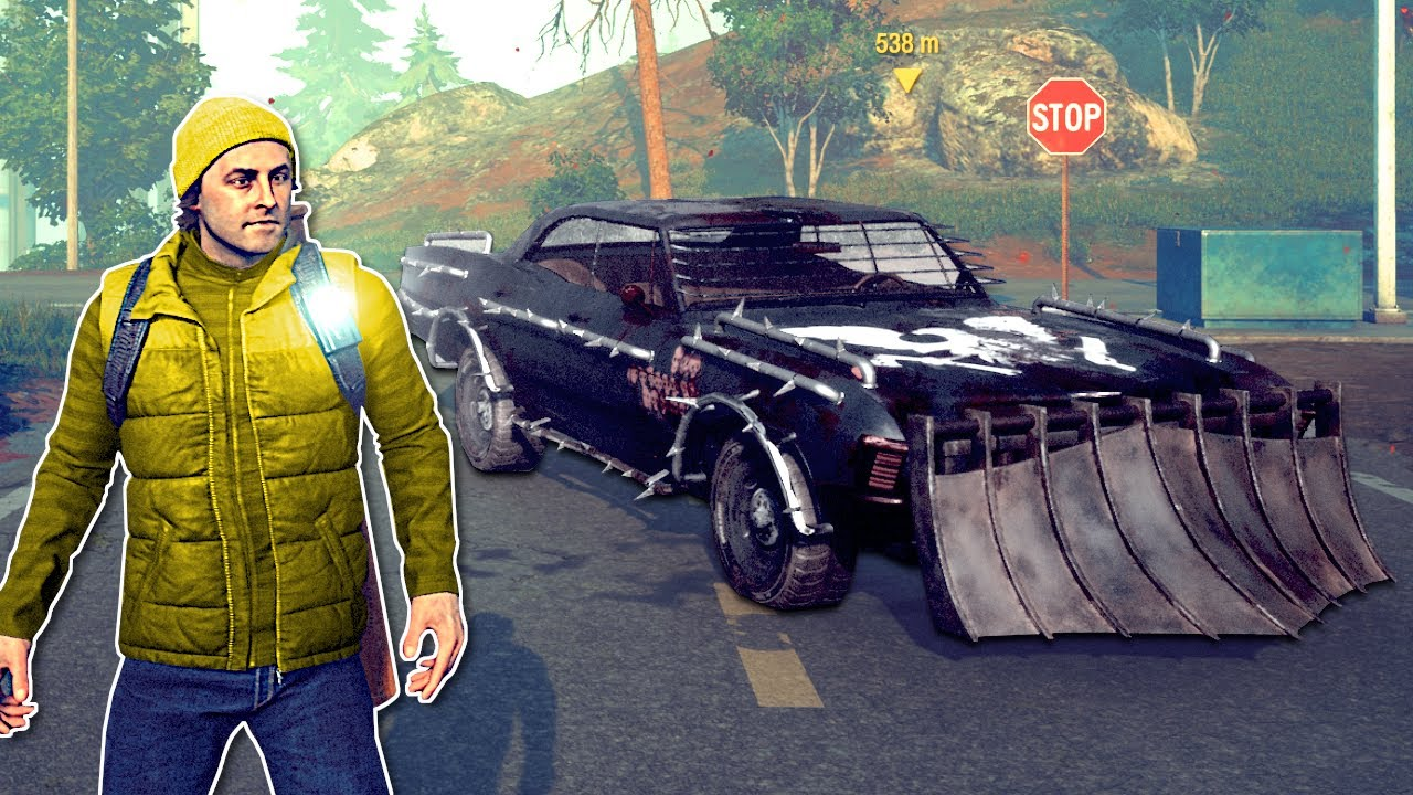 Armored Apocalypse Muscle Car State Of Decay 2 Gameplay Zombie