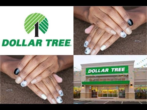 DOLLAR TREE   SASSY + CHIC Artificial Nails   TWO PACKS MIXED   Custom  Design NEUTRAL COLOR Manicure