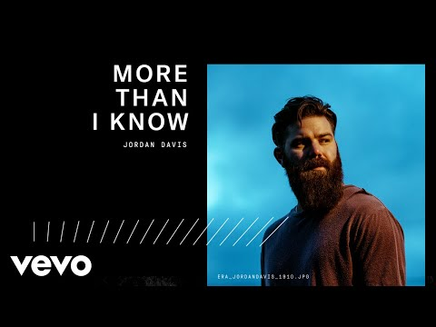 Jordan Davis - More Than I Know (Audio)