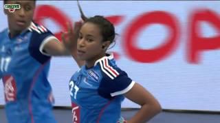 Corée du Sud VS France Handball Championnat du monde féminin 2015 Tour préliminaire