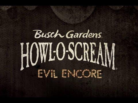 Busch Gardens Tampa Bay Howl-O-Scream Vlog September 2016