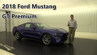 2018 FORD MUSTANG GT PREMIUM WITH ACTIVE VALVE EXHAUST SYSTEM 18095