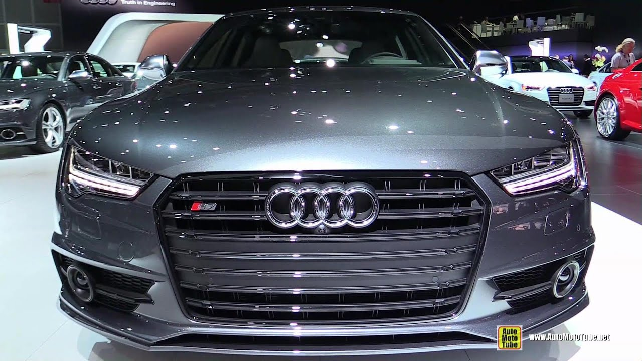 2015 audi s7 exterior and interior walkaround 2014 la auto show youtube