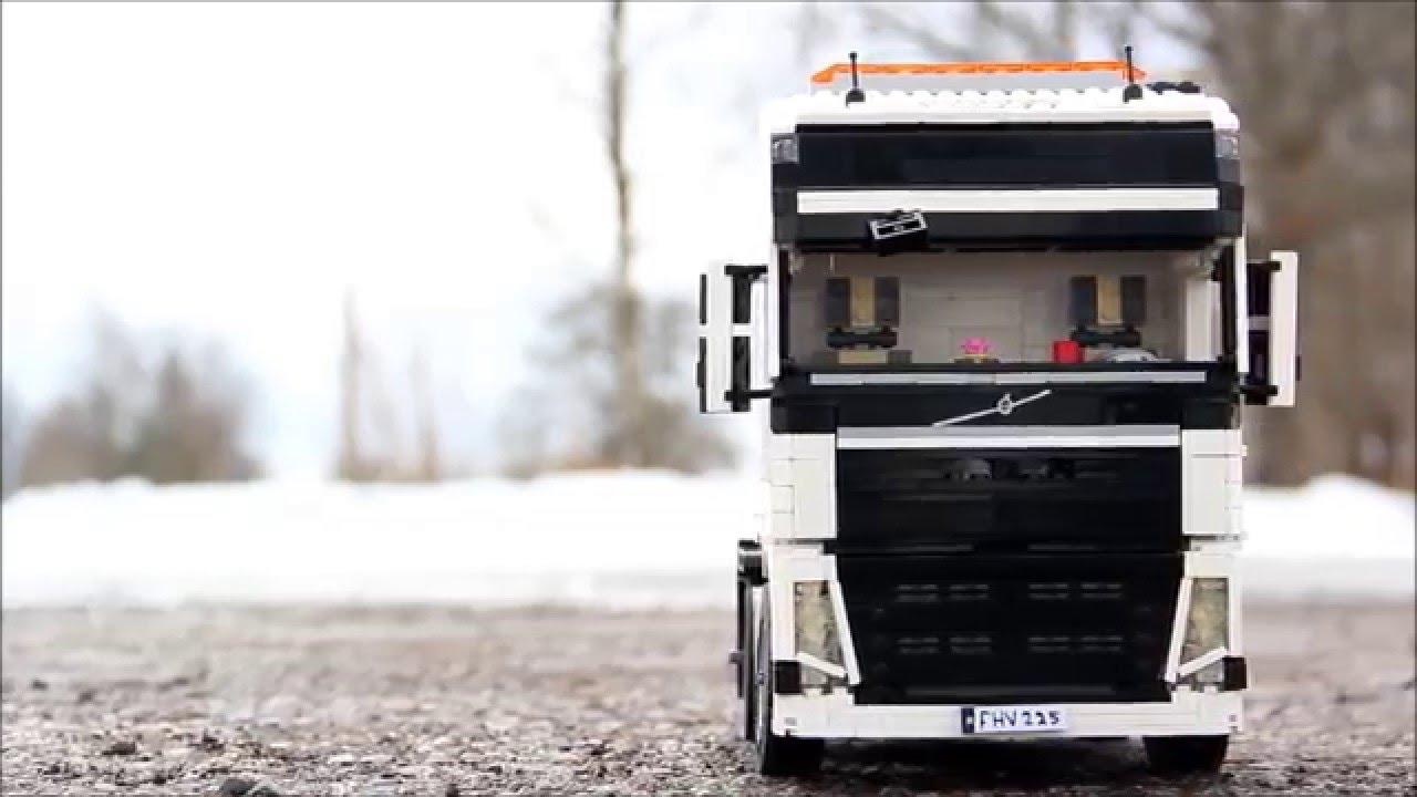 Lego Volvo Fh Youtube
