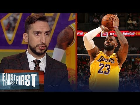 LeBron is going to finish his career as the greatest player of all time | NBA | FIRST THINGS FIRST