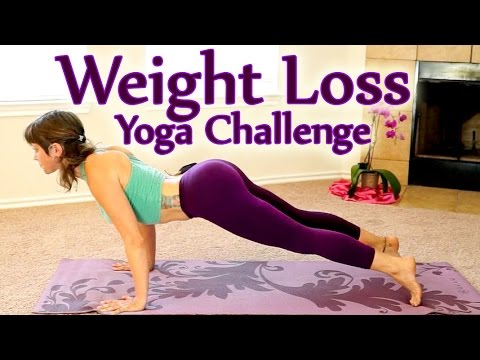 Yoga Weight Loss Challenge Workout 1- 30 Minute Fat Burning