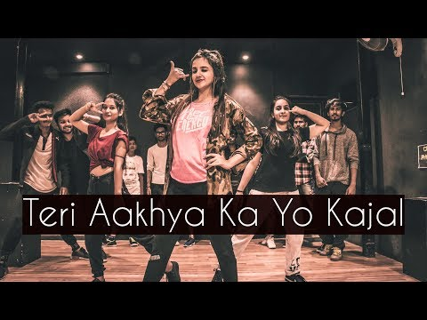 teri-aakhya-ka-yo-kajal-|-one-take-|-tejas-dhoke-choreography-|-dancefit-live