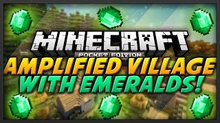 Minecraft Xbox One / PS4 - AMPLIFIED 9 Village Seed - Vloggest