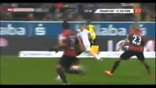 اهداف مباراة آينتراخت فرانكفورت 0 - 1 بايرن ميونخ