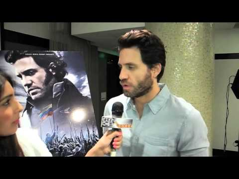 Edgar Ramirez Talks THE LIBERATOR & Simón Bolívar