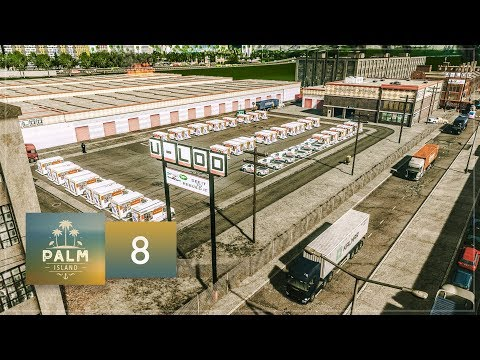 Cities Skylines: Palm Island — EP8 — Self Storage Units & Old Town Industrial District