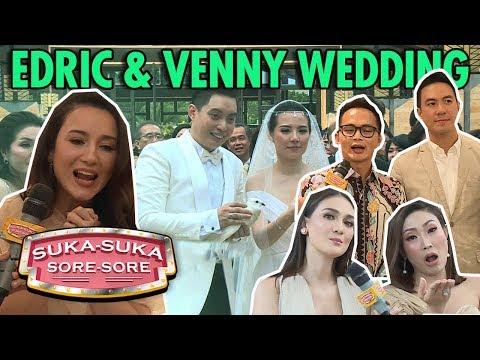 EKSLUSIF REPORT EDRIC CHANDRA & VENNY WEDDING - Suka Suka Sore Sore (22/1) PART 3