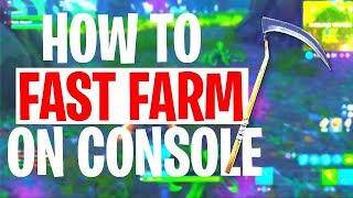 *NEW* HOW TO FAST FARM ON CONSOLE (SEASON 5)