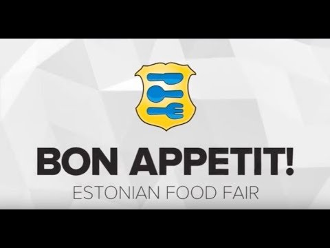 Estonian Food Fair - Bon Appetit! 2017 TV show