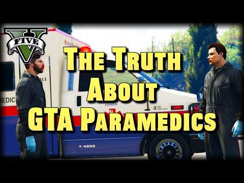 The Truth About GTA Paramedics : GTA V