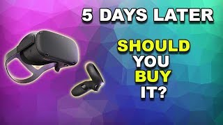 Oculus Quest Honest Review 5 Days Later | Oculus Quest