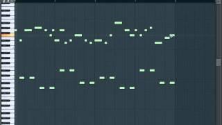 FL Studio 9 - Techno/Trance/Hands up - Melody Tutorial