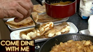 Ryan & Warren Make An Apple Tacos | Come Dine With Me
