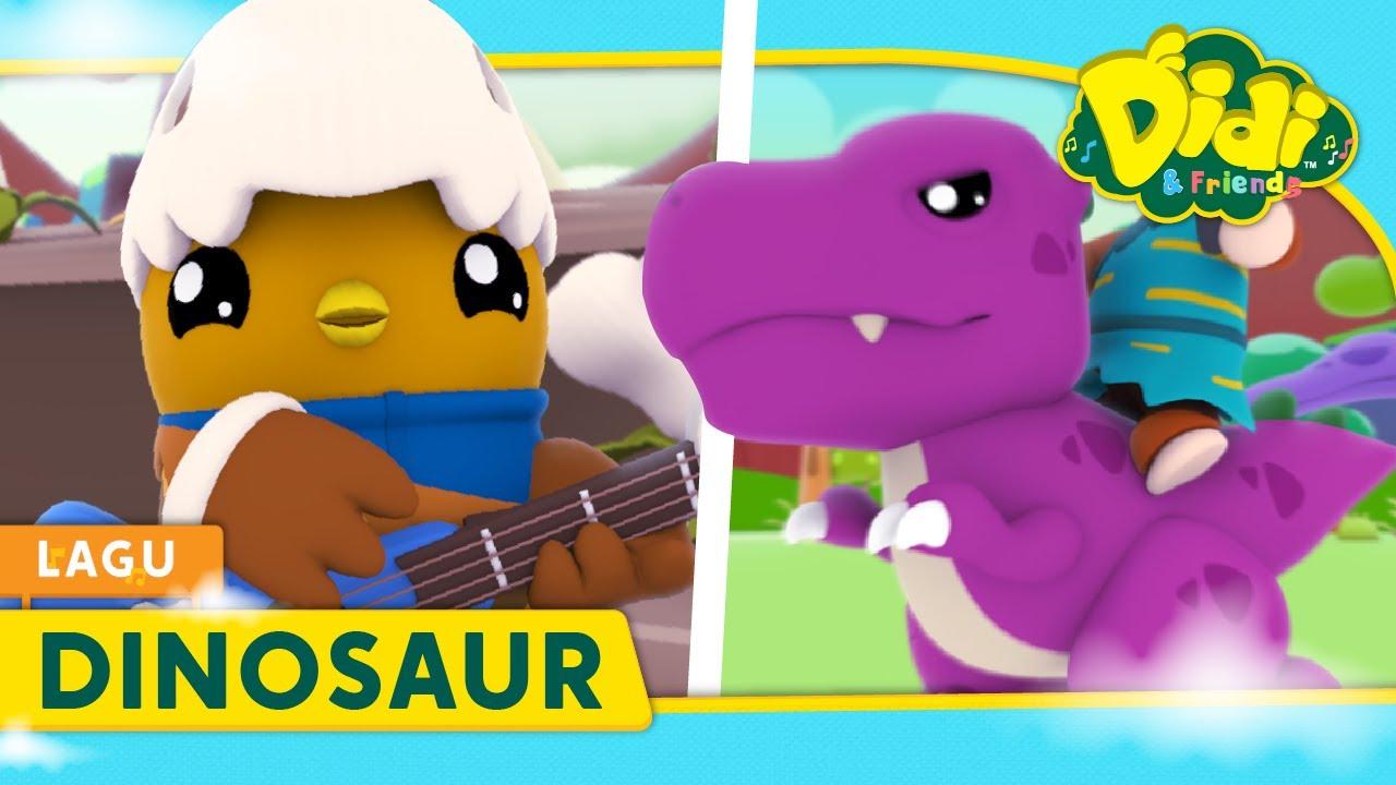 Dinosaur | Lagu Kanak-Kanak | Didi & Friends Lagu Baru