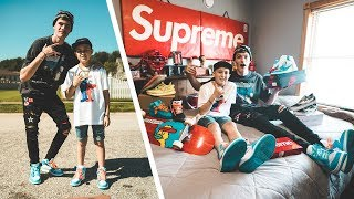 Flying Out to Transform My Biggest Fan into a Hypebeast! (Emotional)
