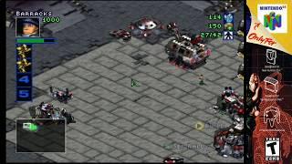 (N64) Starcraft 64 Terran Campaign mission 9 S-video