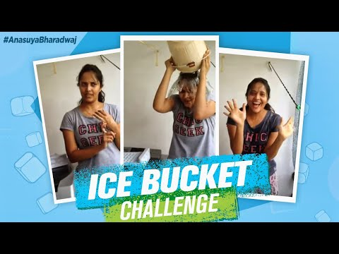 ALS Ice Bucket Challenge - Anchor Anasuya