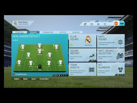 JZ T.V. Live Stream EP. 20 FIFA 16 Real Madrid Manager mode