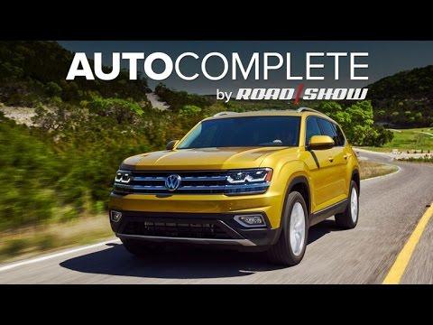 AutoComplete: Volkswagen prices 2018 Atlas from $30,500
