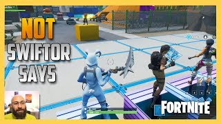 NOT Swiftor Says - It's Jimmyy Says in Fortnite Creative!