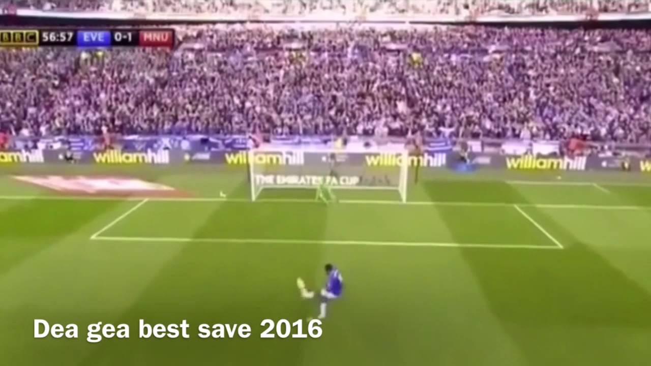 Dea gea top 3 best save 2016