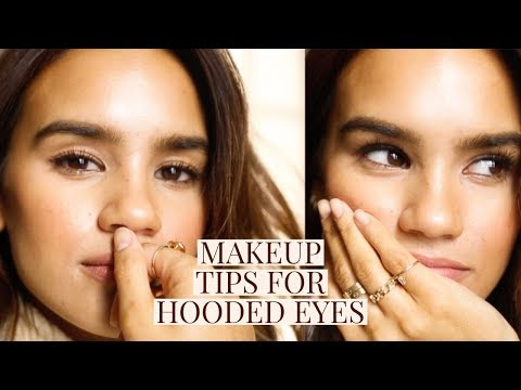 MAKEUP TIPS + TRICKS FOR HOODED EYES!   DACEY CASH