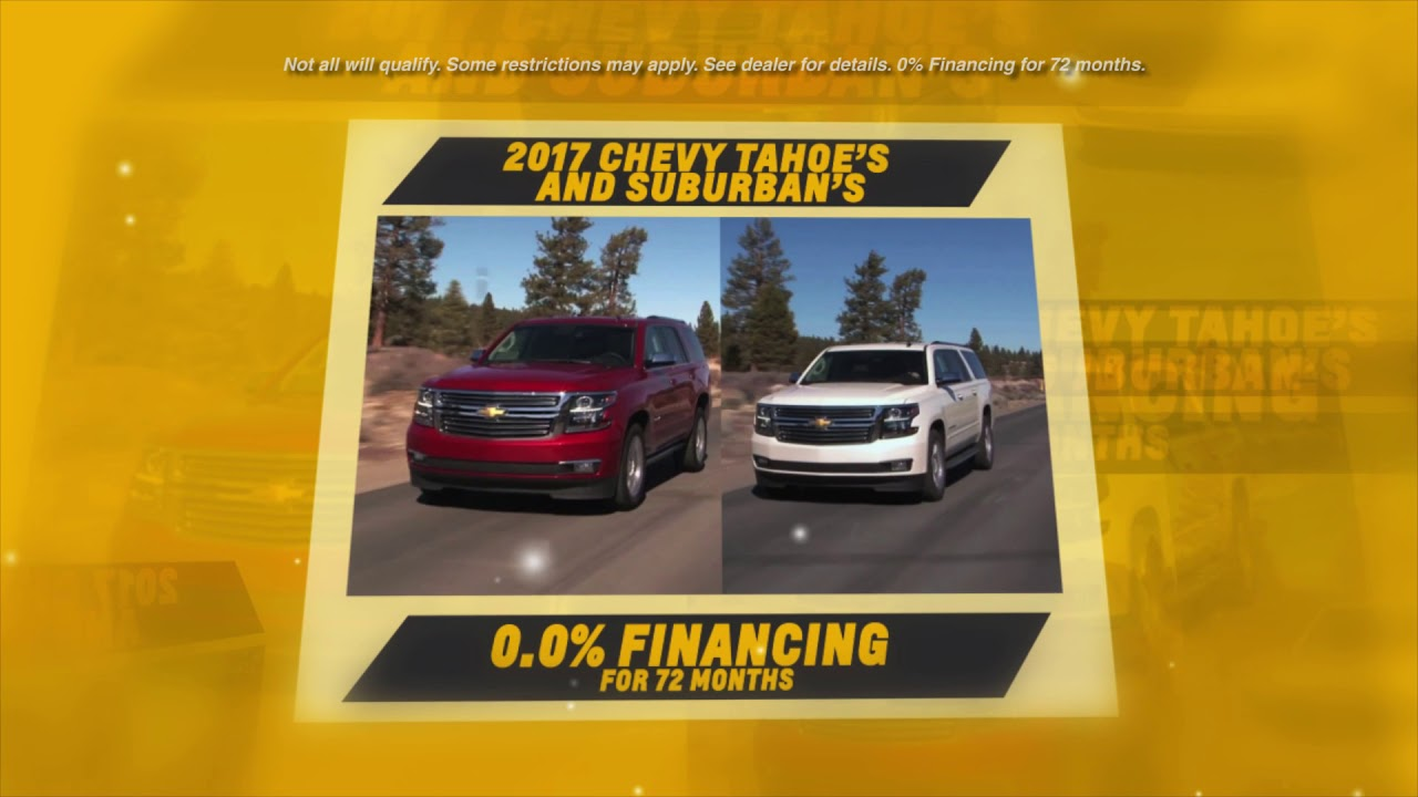 Chevrolet Labor Day Sales Event at Apple Chevy - YouTube