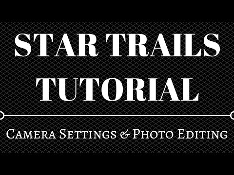 Create Star Trails The Easy Way Using Adobe Photoshop & Lightroom