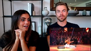 REACTING TO DEREK'S DWTS FINALE PERFORMANCES- Derek Hough and Hayley Erbert's Dayley Life