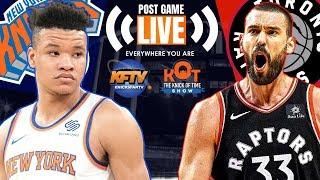 Knicks vs Raptors LIVE Postgame Show| NCAA Tournament Bracket Contest & Key Games 🏀| 657-383-1509