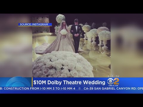 $10M Wedding Held At Dolby Theatre, Same Site As Oscars