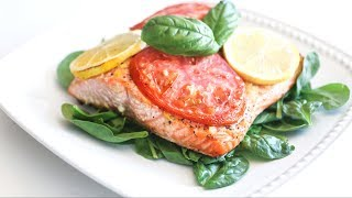 Easy Lemon Pepper Salmon | Low Carb, 20-minute Recipe