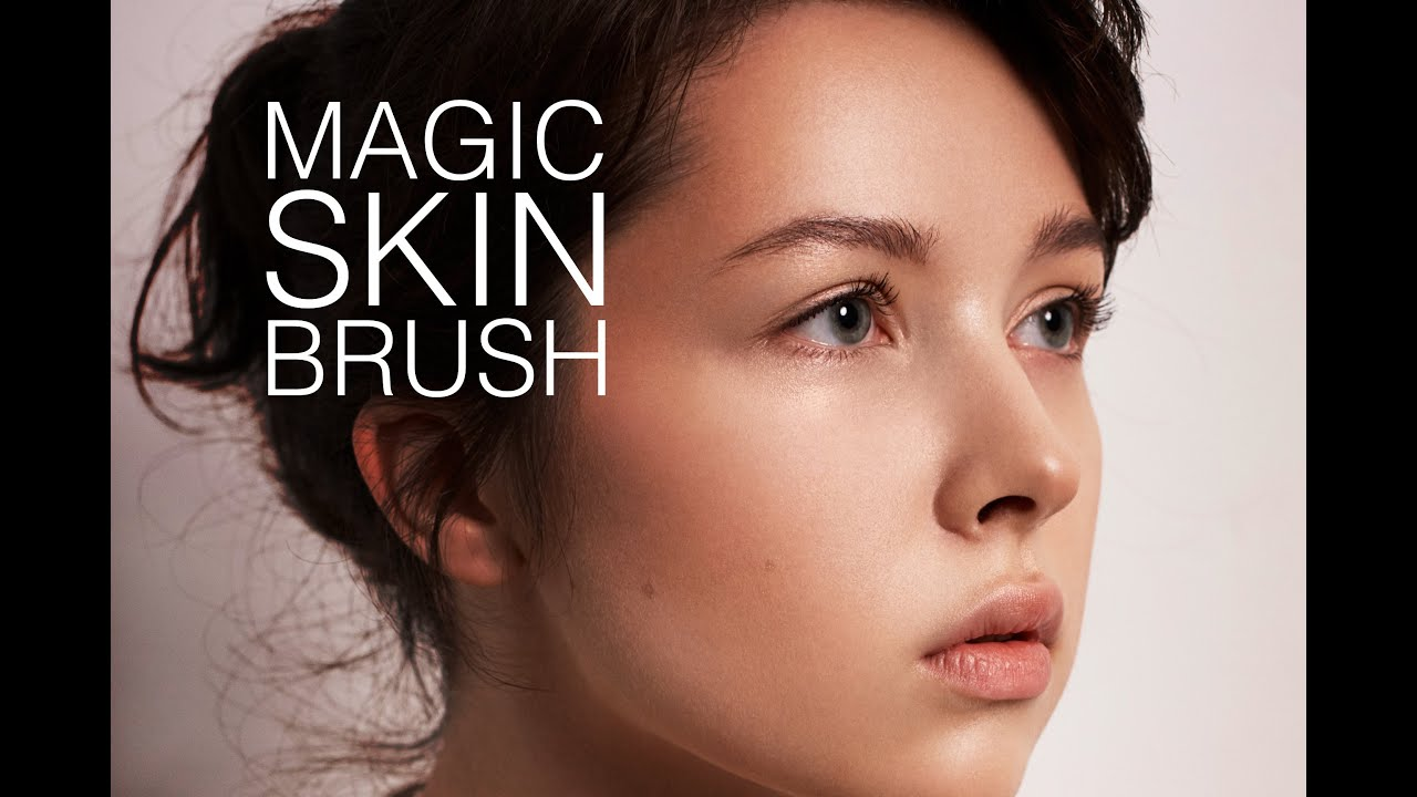 How To Refine SKIN Texture With Skin Brush - YouTube
