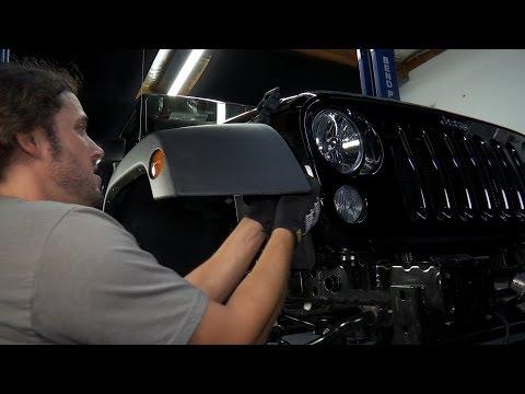 How to Remove Stock Jeep JK Fender Flares - HavocOffroad.com