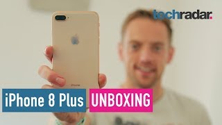 iPhone 8 Plus unboxing video