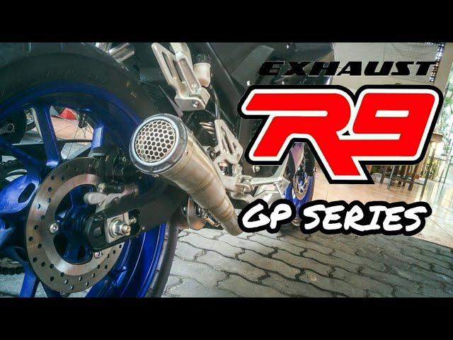 Pure Sound Of Yamaha R15 V3 - R9 GPX-SS Fullsystem Exhaust
